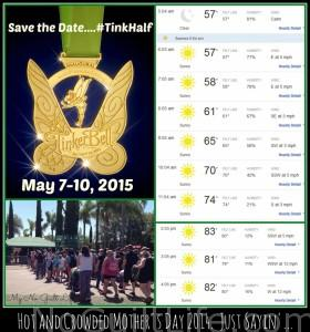 Tinker Bell Half Marathon Mother's Day 2015: How's It Lookin' To You?