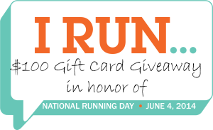 """I Run…"" Celebrate National Running Day"
