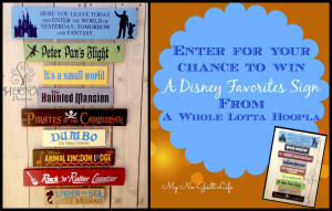 Disney Favorites Giveaway From A Whole Lotta Hoopla