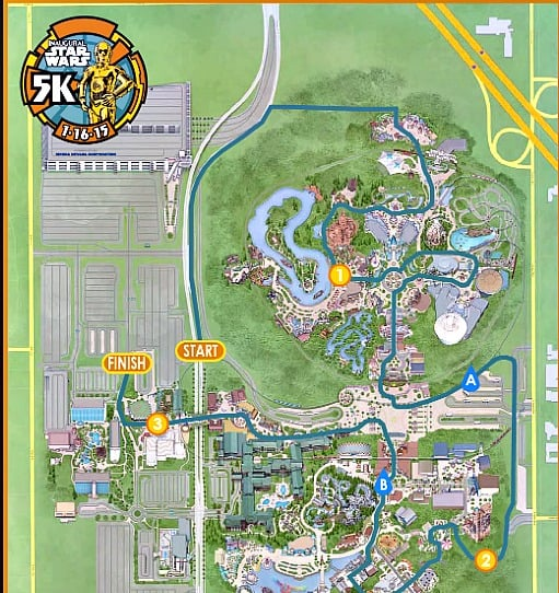 5K Star Wars Course