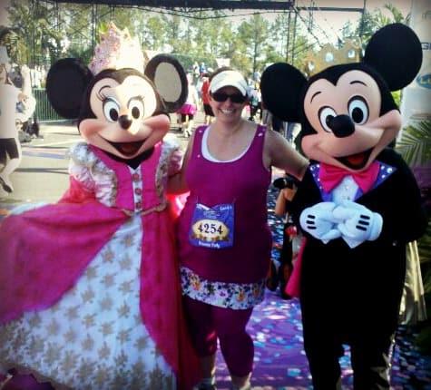 2011 Princess Half Marathon Finish Line