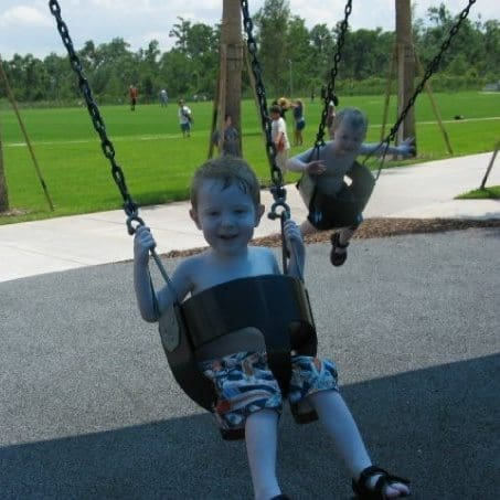 Jake and Luke swings