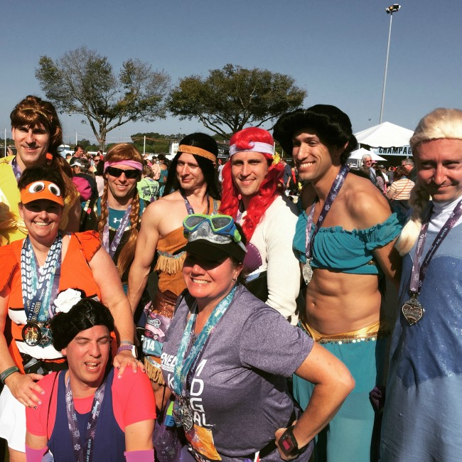 #PrincessMen from the 2015 Princess Half Marathon