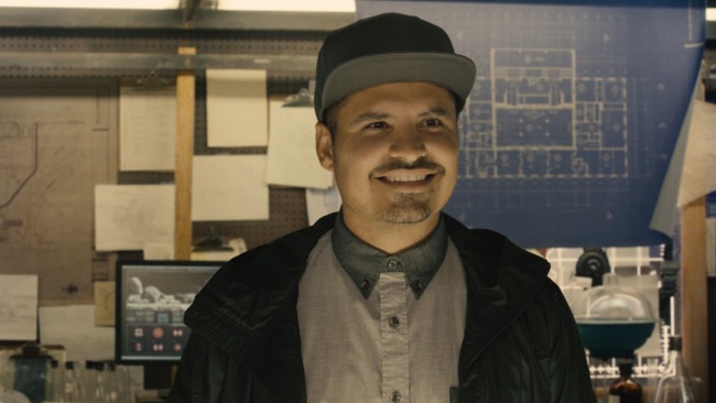 Marvel's Ant-Man Luis (Michael Peña) Photo Credit: Film Frame © Marvel 2014