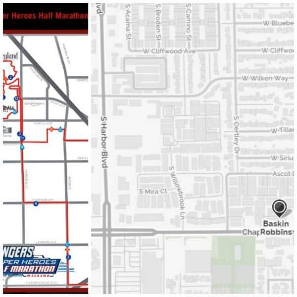baskin Robbins map