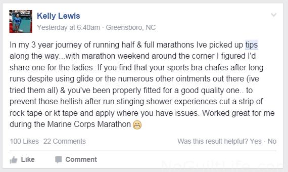 Marathon tip 2