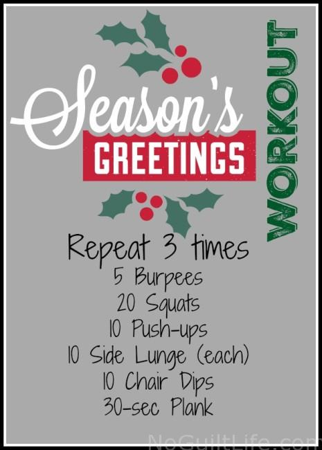 holiday workout: ways to keep you running through December