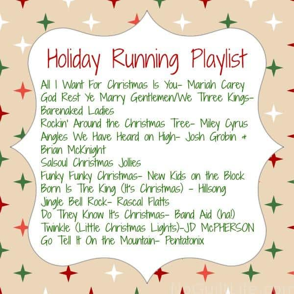 running playlist holiday holiday workout: ways to keep you running through December