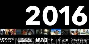 2016 Walt Disney Studios Motion Pictures Slate