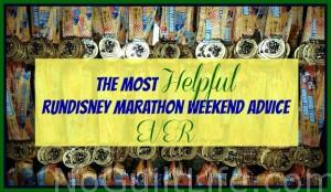 The Most Helpful runDisney Marathon Advice EVER