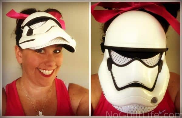 stormtrooper mask visor running costume