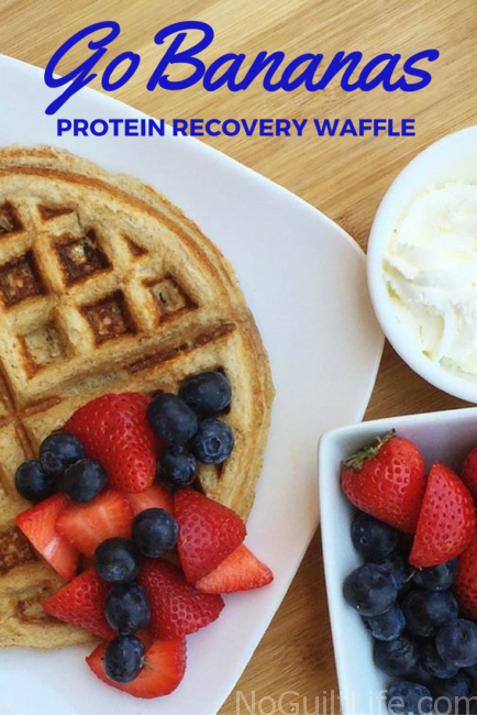 Recovering from a hard workout means refueling with proteins and carbs. Throw in some BCAAs and I'm on the road to my next workout. Diet and exercise go together, right? If you're looking for a recipe to help your fitness routine stay on track, check out this Vanilla Banana Protein Waffle tutorial featuring EAS Whey Protein Powder.