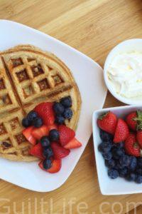 Banana Protein Recovery Waffle Recipe | EAS 100% Whey Protein