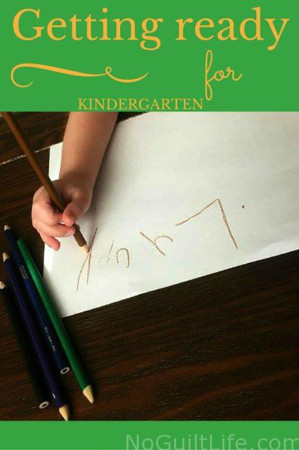 How to get your child ready for kindergarten: a few tasks kids should be able to accomplish before school starts!