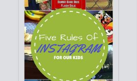 Talking kids and Instagram rules for Mom Monday. Do your kids have guidelines to using social media? Mine sure do. Appropriate language (Captain America) is one of them.