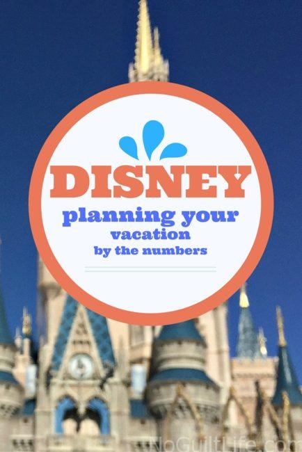 Deciding to go to Walt Disney World is the easy part; planning the perfect vacation is a bit harder! There are some important numbers you need to remember as you plan your magical travel.