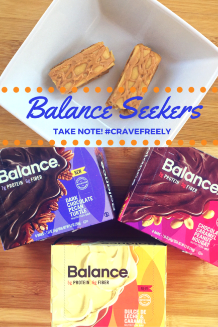 Balance Seekers: you can crave freely with Balance Bars. Snacks that are smart and wholesome! #ad #Cravefreely @BalanceBar
