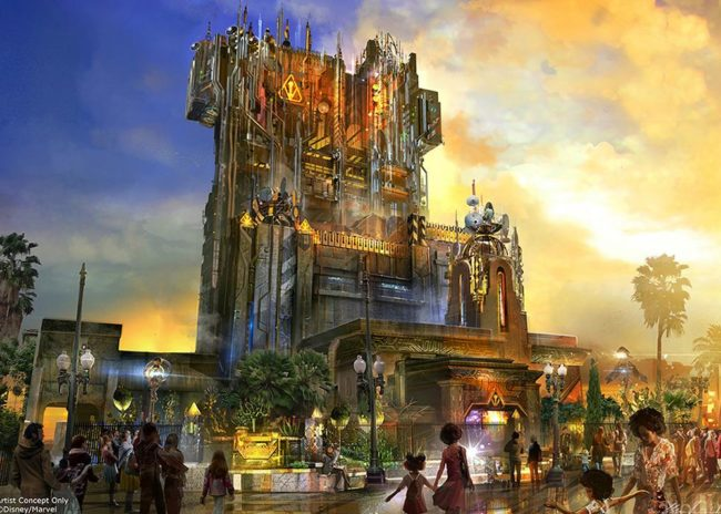 Guardians of the Galaxy- Mission: BREAKOUT coming to Disney California Adventure summer 2017. Disneyland | Tower of Terror