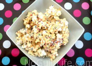 Simple Summer Celebrations | Birthday Cake Popcorn