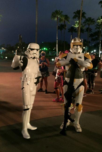 The Dark Side is calling: Star Wars 10K at Walt Disney World is on sale this week. This is the race recap from 2016. runDisney | Storm Troopers | Disneyland | coplay | 501st