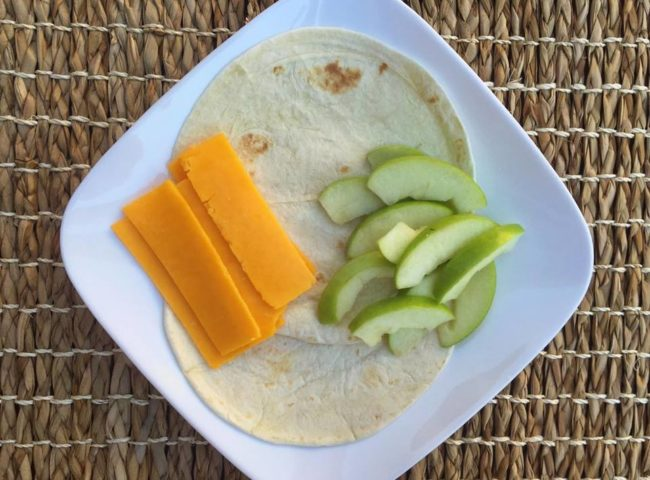 After school snack time: Apple Cheddar Quesadillas #SavorTheMoments #ad