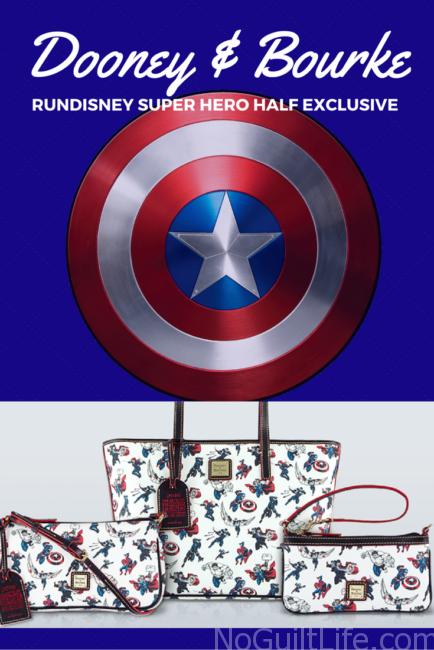 Super Hero Half marathon exclusive Dooney and Bourke purses by Disney. Marvel   Captain America   Avengers   Doctor Strange   The Hulk  