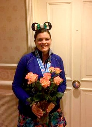 Heather had a sweet flower delivery and noticed other rooms receiving deliveries as well!