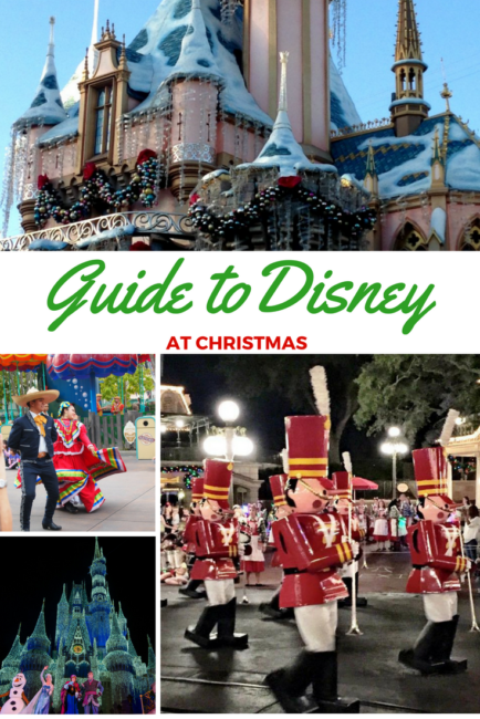 You should head to Walt Disney World or Disneyland in for the Christmas holidays. Or maybe to the Disney Cruise Line. Why? This guide to Christmas at Disney reveals all! It's our Very Merry gift to you! Mickey's Very Merry Christmas Party | Jingle Cruise | Osborne Family Lights |