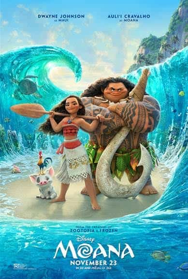 Moana movie activity sheets for the family. Poster | Maui | Disney