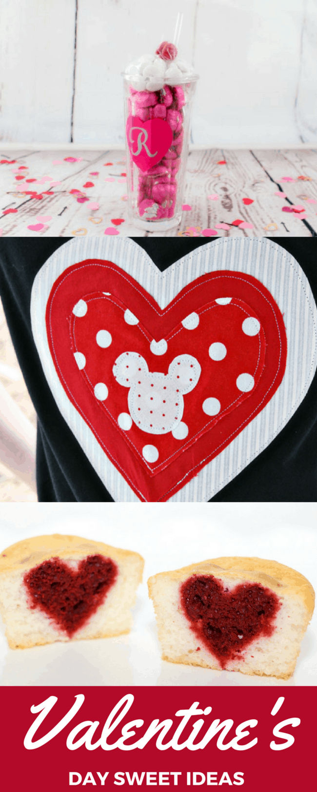 Valentine's Day: Crafts, Recipes, Travel and Disney! Sweet DIY ideas for parents