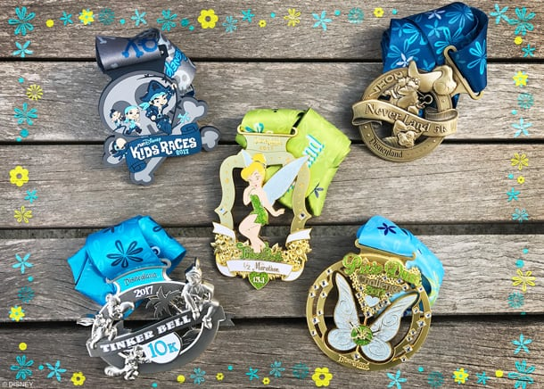 2017 Tinker Bell Half Marathon corrals, medals, course maps and more. RunDisney at Disneyland