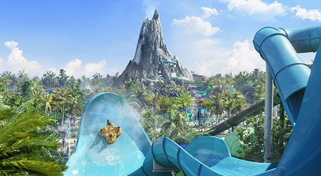 Universal Studios Orlando Volcano Bay