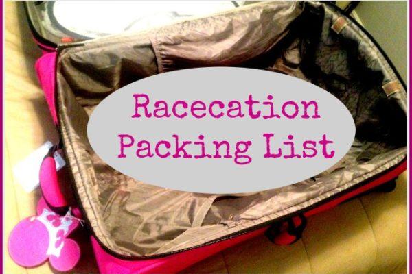 Princess Half Marathon Packing List