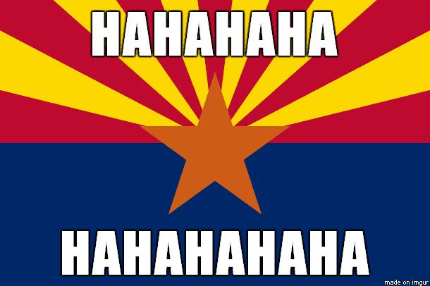 Arizona Day Light Saving meme No DST in AZ Springing forward