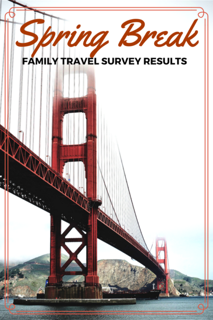 Spring Break Survey results from the TravelingMoms How are parents traveling over spring break with their kids?