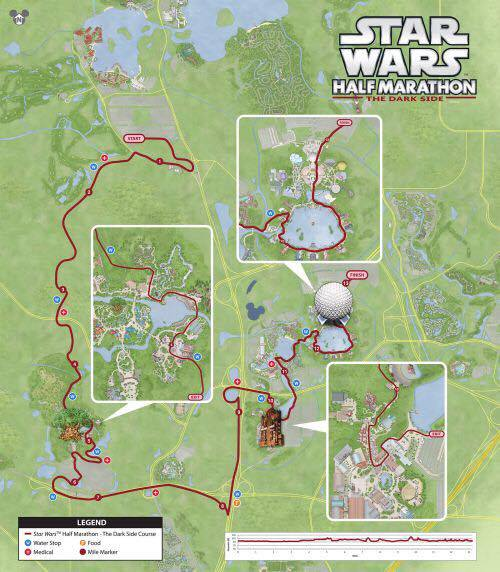 2017 Star Wars Dark Side Event Guide, Corrals, Course Maps | | My No ...