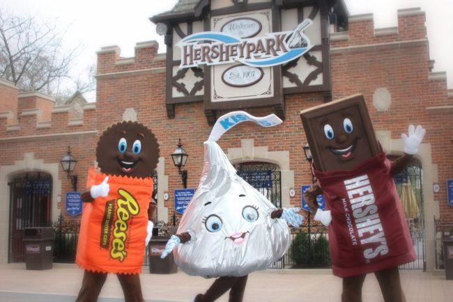 Hersheypark Sweet Welcome