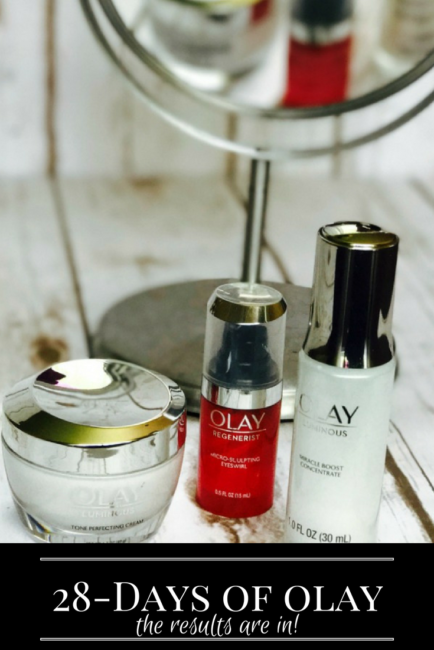 Oil of Olay 28-Days of Olay Skin Study Results. Beauty | Skin Care | MomLife #28daysofolay #ad