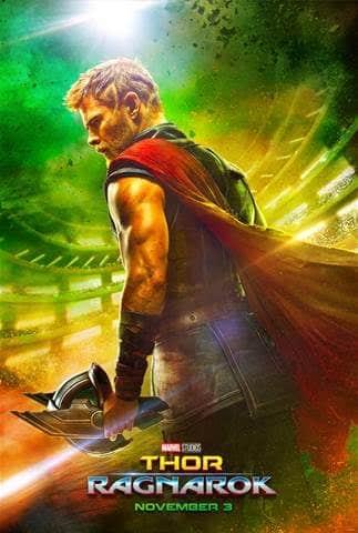 Thor: Ragnarok poster Marvel & Chris Hemsworth