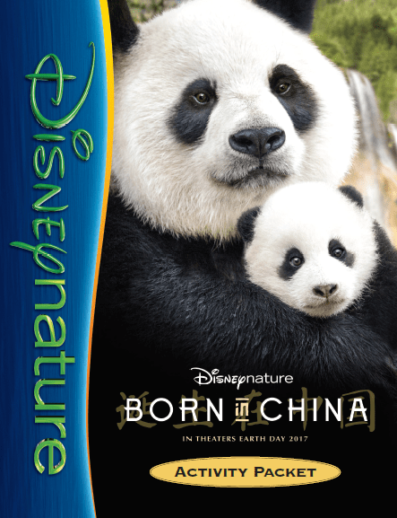 Born in China Review and activity sheets for the family