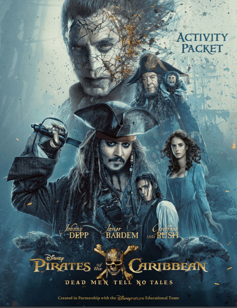 Pirates of the Caribbean Dead Men Tale No Tales Review and Family Activity Sheets | Free Printables for Kids | Disney