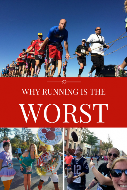 All the reasons running is the worst and why you should definitely not become a runner. Global National Running Day