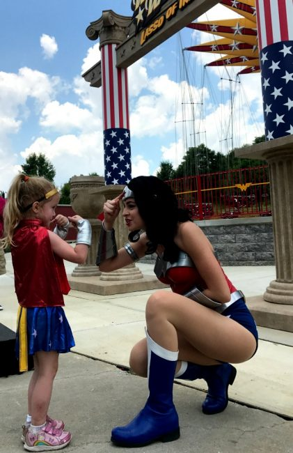 Six Flags America Wonder Woman's Lasso of Truth