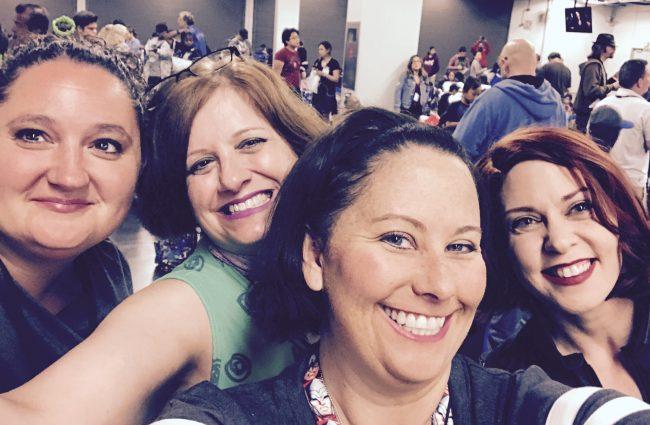 friend selfie at D23 Expo