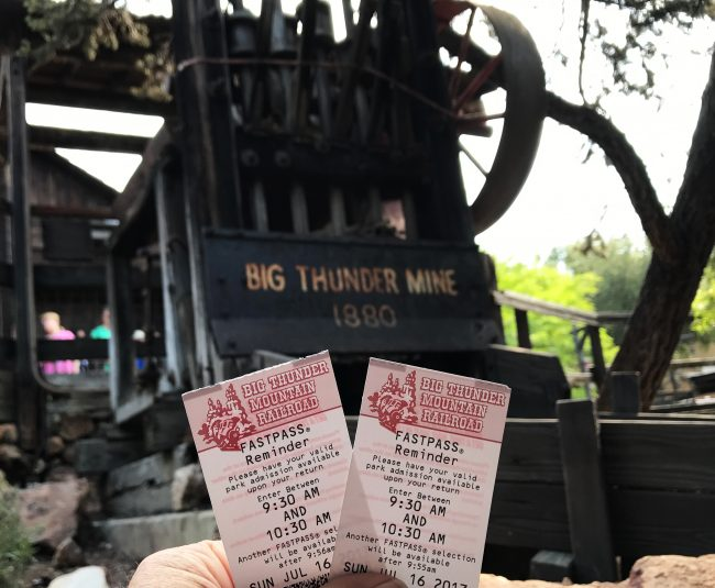 Paper FastPasses Disneyland replaced with maxpass