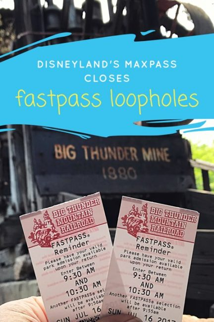 If you've been to Disneyland and used the paper FastPass system: be warned. A big change is coming with Disney's MaxPass and it closes a few loopholes!