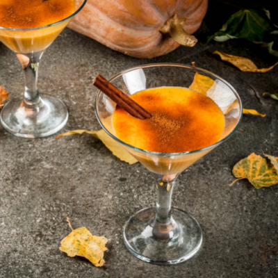 Thirsty Thursday- This is Halloween With a Pumpkin Margarita Fall Cocktail