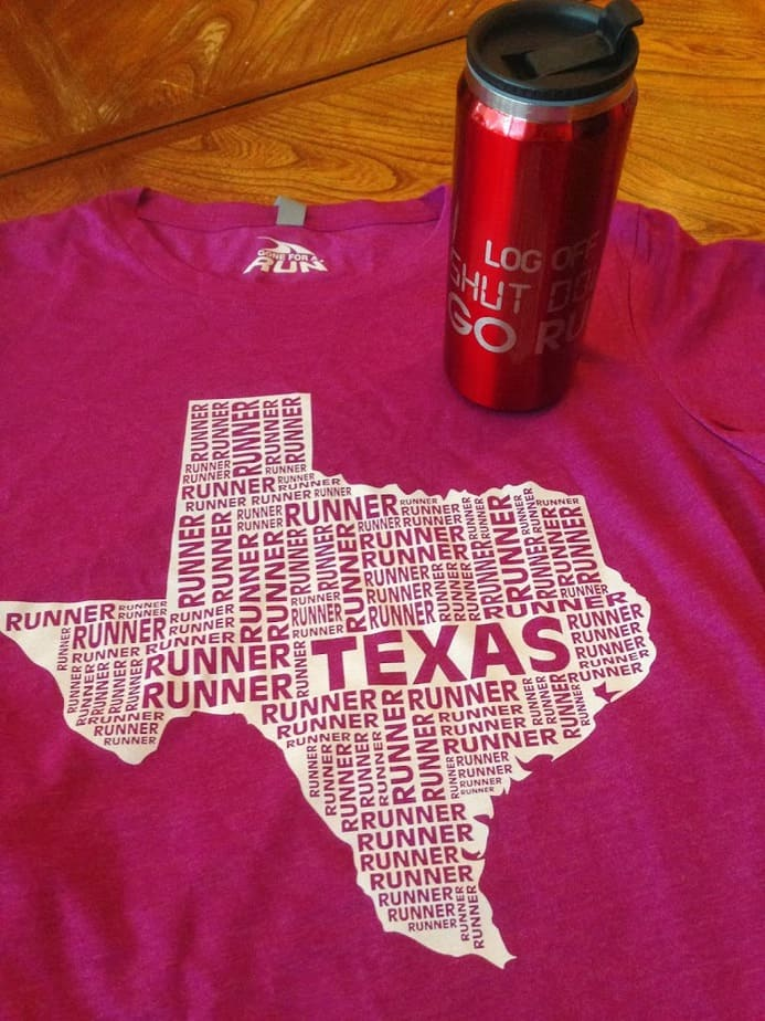 Represent Your State (And State of Mind) With Gone For A Run- and a *Giveaway*