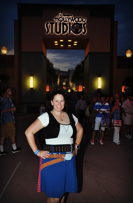 Han Solo dress in Hollywood studios