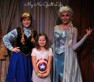 Anna and Elsa Claire